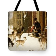 The Sisters of Charity Tote Bag by Charles Burton Barber