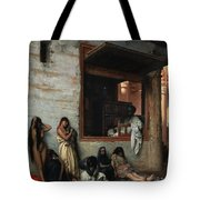 The Slave Market Tote Bag by Jean Leon Gerome