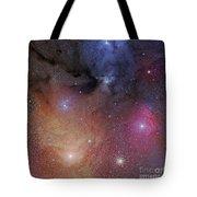 The Starforming Region Of Rho Ophiuchus Tote Bag by Phillip Jones