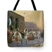 The Sword Dance Tote Bag by Jean Leon Gerome