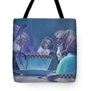 The Tea Party Tote Bag by Leonard Filgate