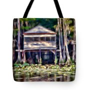 The Tea Room Tote Bag by Lana Trussell