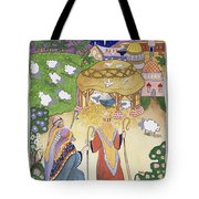 The Three Shepherds Tote Bag by Tony Todd
