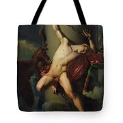 The Torture Of Prometheus Tote Bag by Jean-Louis-Cesar Lair