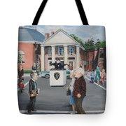 The Traffic Box Tote Bag by Jack Skinner