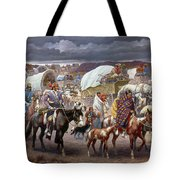 The Trail Of Tears Tote Bag by Granger