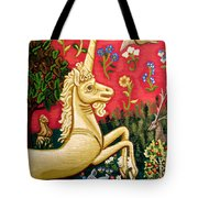 The Unicorn Tote Bag by Genevieve Esson