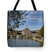 The Vatican By Day Tote Bag by Michelle Sheppard