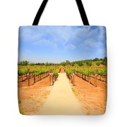 The Vineyard Tote Bag by Cheryl Young
