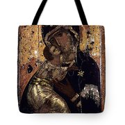 The Virgin Of Vladimir Tote Bag by Granger