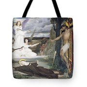 The Vision Tote Bag by Luc-Oliver Merson