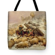The Warmth of a Wee Dram Tote Bag by TS Cooper