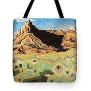 The Watchtower Tote Bag by Dale Beckman