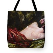 The Weariness Tote Bag by Sergey Ignatenko