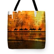 The Weary Journey Tote Bag by Paul Sachtleben