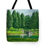 The Willow Path Tote Bag by Charlotte Blanchard
