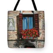 The Window Tote Bag by Charlotte Blanchard