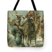The Wise Men Seeking Jesus Tote Bag by Ambrose Dudley