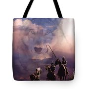 The Wolf Tote Bag by Paul Sachtleben