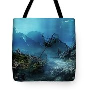 The Wreck Tote Bag by Mary Hood