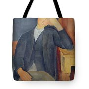 The Young Apprentice Tote Bag by Amedeo Modigliani
