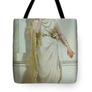 The Young Bride Tote Bag by Alcide Theophile Robaudi