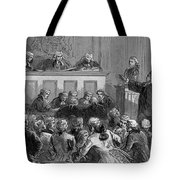 The Zenger Case, 1735 Tote Bag by Photo Researchers