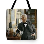 Thomas Edison Tote Bag by Granger