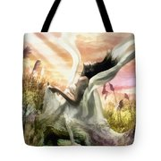 Thorn Tote Bag by Mo T