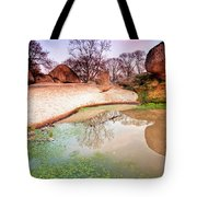 Thracian Sanctuary Tote Bag by Evgeni Dinev