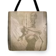 Three Brothers - Combined Tote Bag by Lisa Leeman