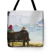 Three Ladies Tote Bag by Avalon Fine Art Photography