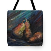 Three Pears Tote Bag by Nadine Rippelmeyer