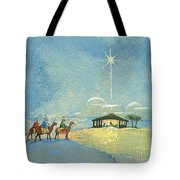 Three Wise Men Tote Bag by David Cooke