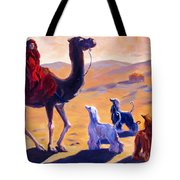 Three Wise Men Tote Bag by Terry  Chacon