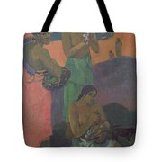 Three Women On The Seashore Tote Bag by Paul Gauguin