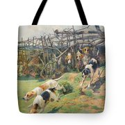 Through the Fence Tote Bag by Arthur Charles Dodd