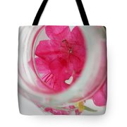 Through The Looking Glass Tote Bag by Amanda Barcon