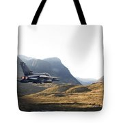 Thunder In The Glen Tote Bag by Pat Speirs