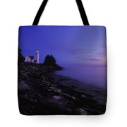 Tibbetts Point Lighthouse Sunset - Fm000014 Tote Bag by Daniel Dempster