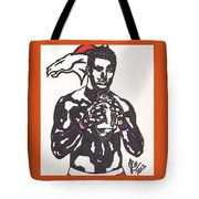 Tim Tebow 2 Tote Bag by Jeremiah Colley