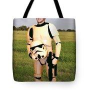 Tim Tebow Stormtrooper Tote Bag by Paul Van Scott