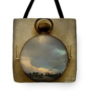 Time Free Tote Bag by Martine Roch