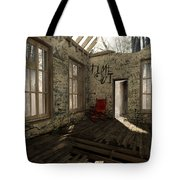 Time Out Tote Bag by Cynthia Decker