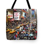 Times Square 1 Tote Bag by Andrew Fare