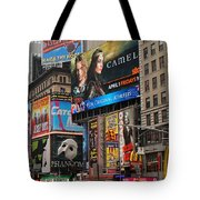 Times Square 4 Tote Bag by Andrew Fare