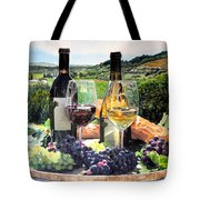 Toast Of The Valley Tote Bag by Gail Chandler