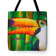 Toco Toucan Tote Bag by Daniel Jean-Baptiste