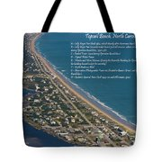 Topsail Beach Tote Bag by Betsy C  Knapp