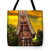 Toraja Architecture Tote Bag by Charuhas Images